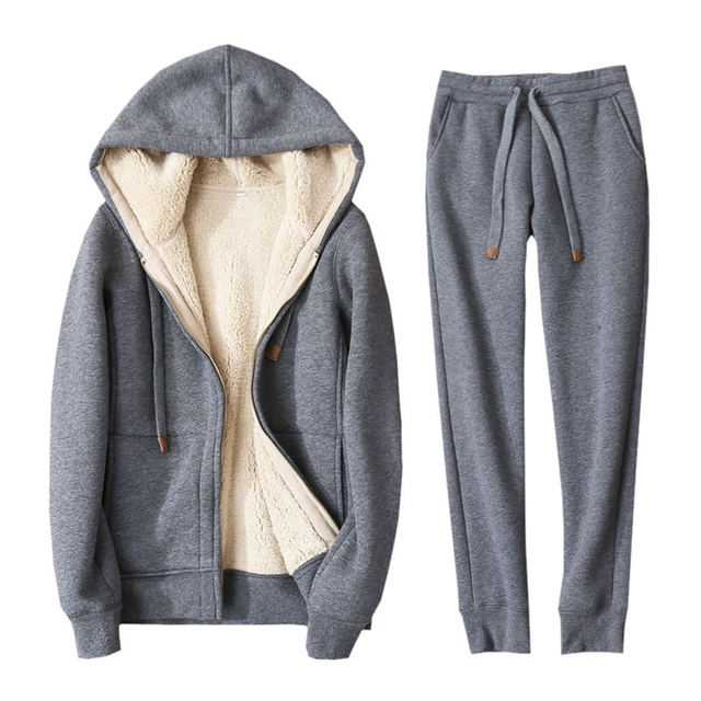 Autumn Winter  Two Hoodies Jacket 5