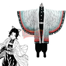 Cosplaylegend Anime Demon Slayer: Kimetsu no Yaiba  Shinobu Kochou Cosplay Costume adult outfit female custom made цена и фото