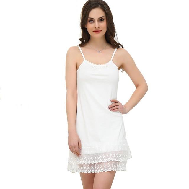 Vestido de encaje de Las Mujeres Mori Chica Lolita Vintage Correa de Espagueti Del Verano vestidos Más del Tamaño 4XL Blanco Maxi Túnica Camisa Básica Del Algodón vestido