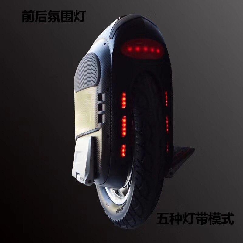 Date Gotway Msuper X 19 pouces Électrique monocycle, auto-équilibrage scooter une roue 2000 W moteur, Nesest carte mère, haute puissance MOS