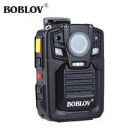 Boblov HD66 02 Ambarella A7L50 Police Body Worn Camera 32GB 1296P Police Camera Mini Camcorders With GPS Remote Controller