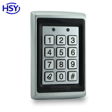 цена на Metal Case Standalone Keypad Access Control RFID Proximity ID EM Card Keytags Single Door Keyboard Controller system