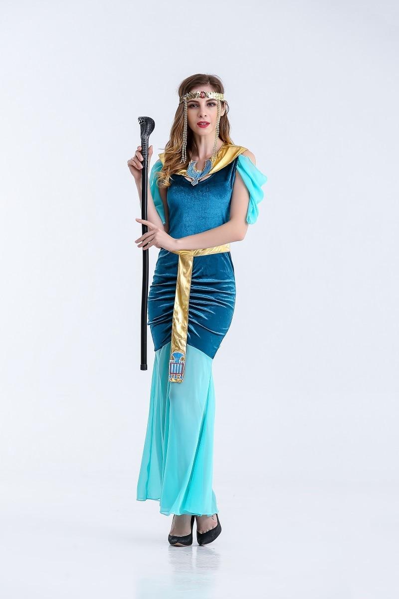 New Arrival Egypt Fancy Dress Lady Halloween Performance Egypt Queen ...