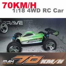 1:18 versión de actualización A959-B A959 70 km/h 2.4G RC 4WD coche de Radio Control De Camiones Buggy RC de Alta velocidad-carretera