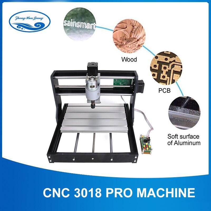 CNC3018pro WithER11,diy Mini Cnc Engraving Machine,laser Engraving,Pcb PVC Milling Machine,wood Router,cnc 3018,NEW