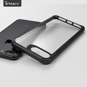 Image 3 - IPAKY Phone Case Transparent Shockproof Bumper Cover On For iphone SE 2 2020/6s/6 s/6 plus/7/7plus/8/8plus/X/XR/XS MAX/SE2 S R