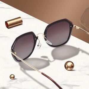 Image 2 - AOFLY DESIGN Mode Frauen Sonnenbrille Vintage Retro Gradienten Polarisierte sonnenbrille Weibliche Sommer Stil MARKE Shades Gafas A110