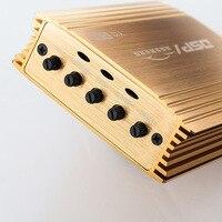 Car Audio DSP Processor Amplifier 4 Channel D Class HIFI Sound High Power Amplifier Class D