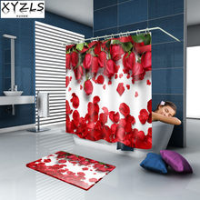 Outstanding Popular Red Bathroom Curtains Buy Cheap Red Bathroom Download Free Architecture Designs Xerocsunscenecom