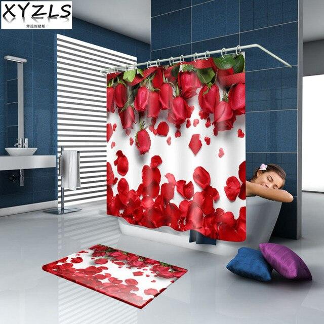 XYZLS di Marca di Alta Qualità di Nuovo di Lusso Della Farfalla/Rosa Rossa 3D Im
