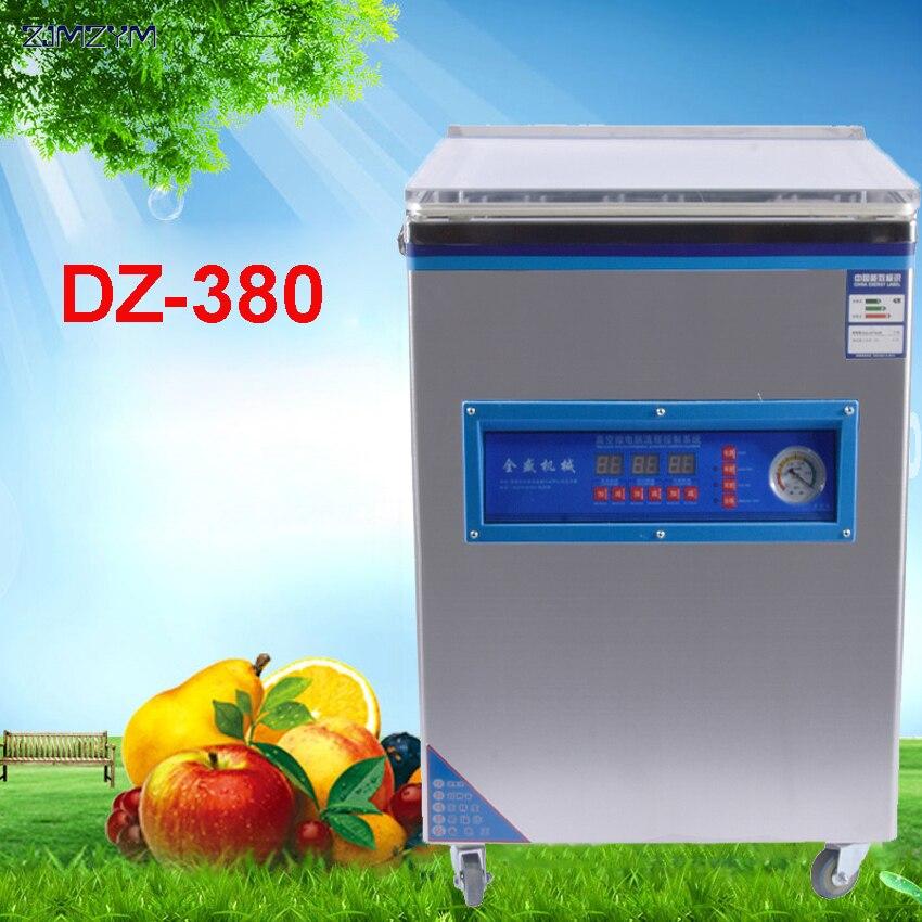 DZ-380 commercial vide alimentaire scellant machine d'emballage sous vide famille dépenses vide machine sous vide scellant Thé cuit alimentaire