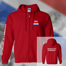 Paraguay Paraguayan mens hoodies and sweatshirt casual polo sweat suit streetwear tracksuit nations fleece zipper PY PRY 2017