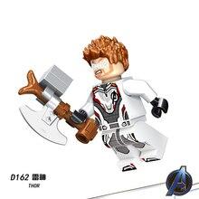 legoings Avengers 4 Endgame Captain America Marvel Iron Man Thanos Deadpool Hulk Super Heroes Mini Figures Building Block Toys
