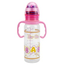 Cute Automatic Colorful Eco-Friendly Plastic Feeding Bottle