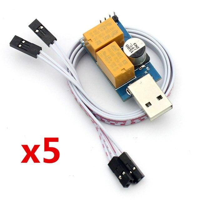 Шт. 5 шт. USB сторожевой таймер модуль карты автоматический перезапуск IP электронные часы собака 2 таймер Перезагрузка Lan для добычи игровой компьютер PC