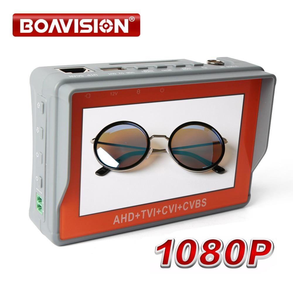 Здесь продается  1080P 2MP Portable 4 In 1 AHD TVI CVI CVBS CCTV Camera Tester With 4.3 Inch LCD Video Audio Power Test Security Camera Tester   Безопасность и защита