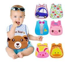 Водонепроницаемый моющийся бандана EVA с героями мультфильмов; нагрудник для малышей; От 1 до 6 лет для маленьких мальчиков и девочек; одежда для малышей; шарф