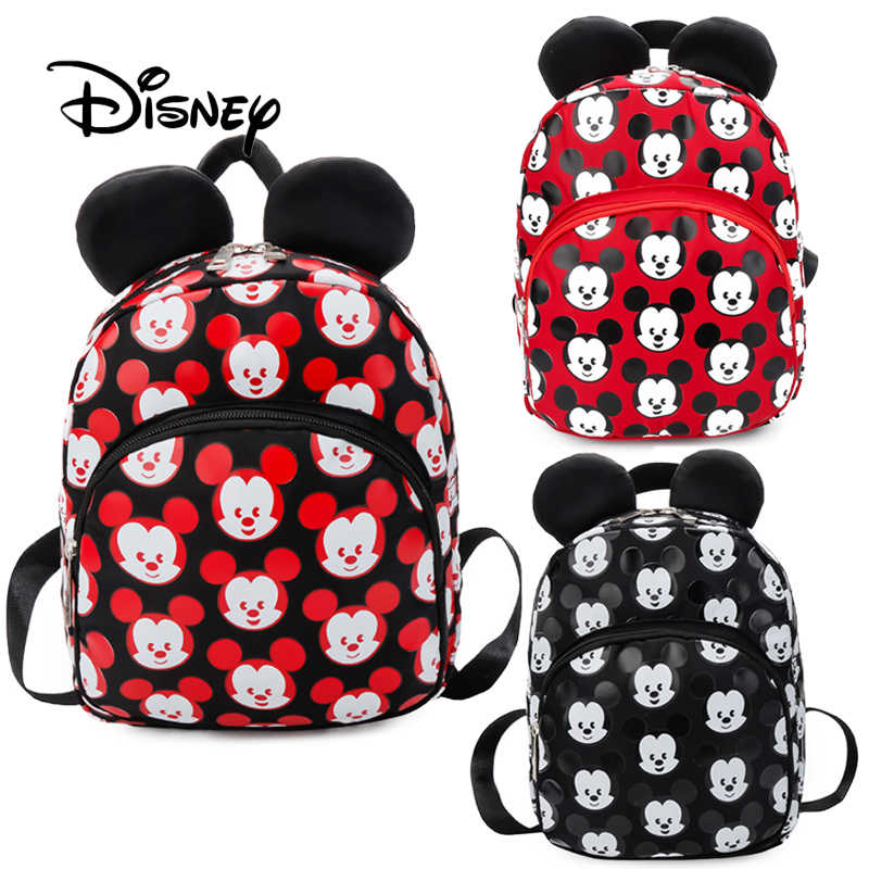 55a96a79c7df Detail Feedback Questions about 2019 Disney Kids Mickey Mouse Girls School  Bag Backpack Children Cute Boy Backpacks New Polyester Oxford Cartoon Disney  Toys ...