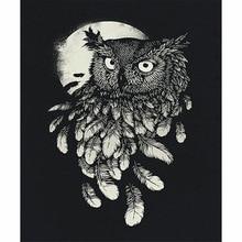 8400 Koleksi Wallpaper Burung Hantu Hitam Putih HD Terbaik