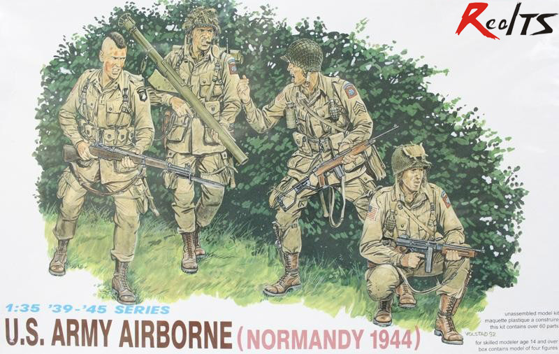 RealTS DRAGON 6010 1/35 U.S.ARMY AIRBORNE (NORMANDY 1944)