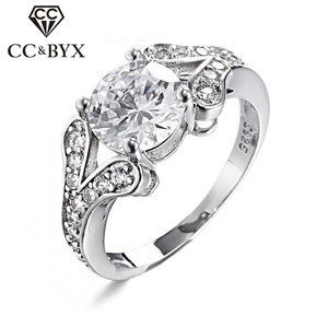 Cincin Wanita Engagement Rings For Women 925 Sterling SilverParty Jewelry Wedding Ring Bijoux Femme Anillos Mujer Gifts CC096