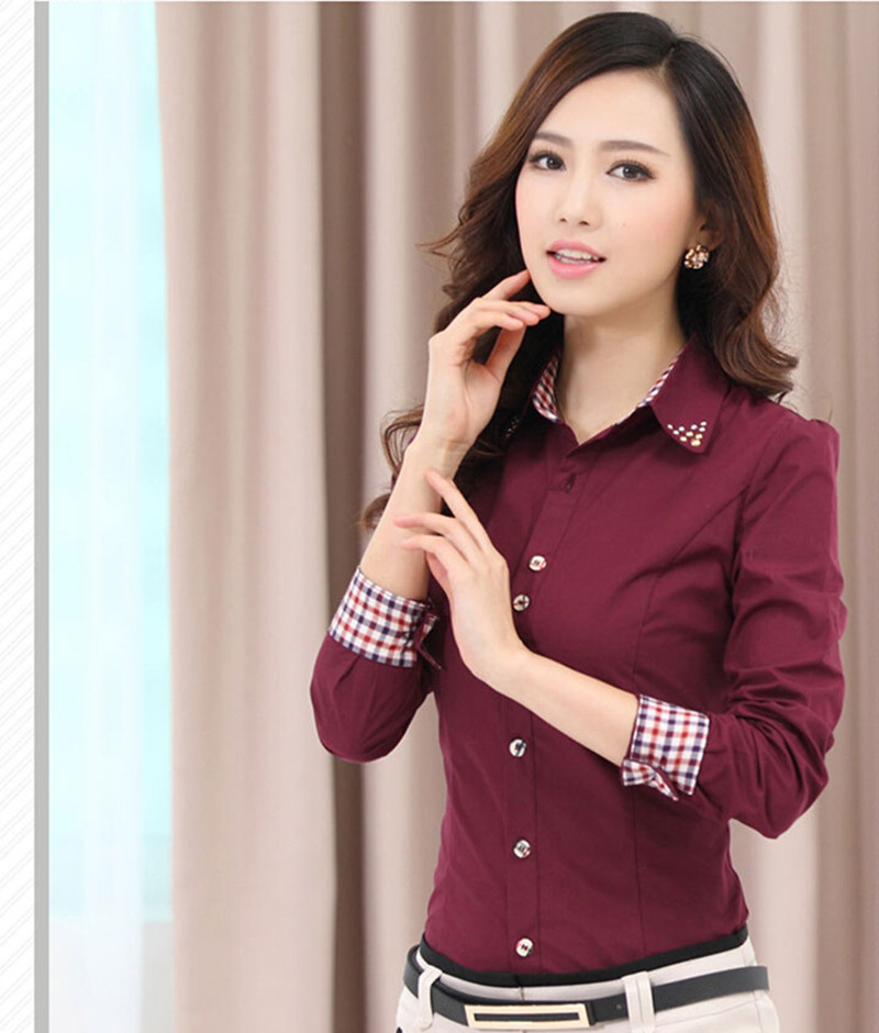 4a8590bb 2015 OL Women Office Shirts Ladies' Long Sleeve Shirts Women Work Shirts S- 4XLUSD 15.29/piece. 4 5 6 7 ...