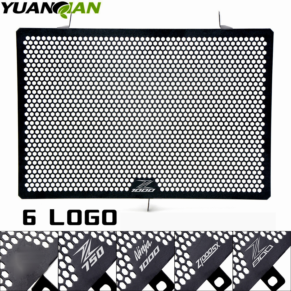 Motorcycle accessories radiator guard protector grille grill cover protection for KAWASAKI Z750 Z800 Z1000 Z1000SX NINJA 1000