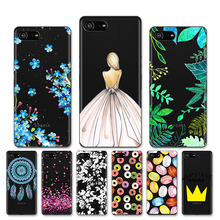AKABEILA Soft Case For Sony Xperia XZ4 Silicone Phone Shell Anti knock Cover Compact Z4Mini Bags
