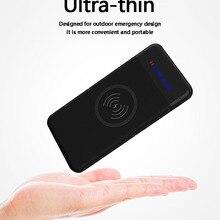 Slim 20000 mAh Power Bank,Portable Ultra-thin Wireless charg