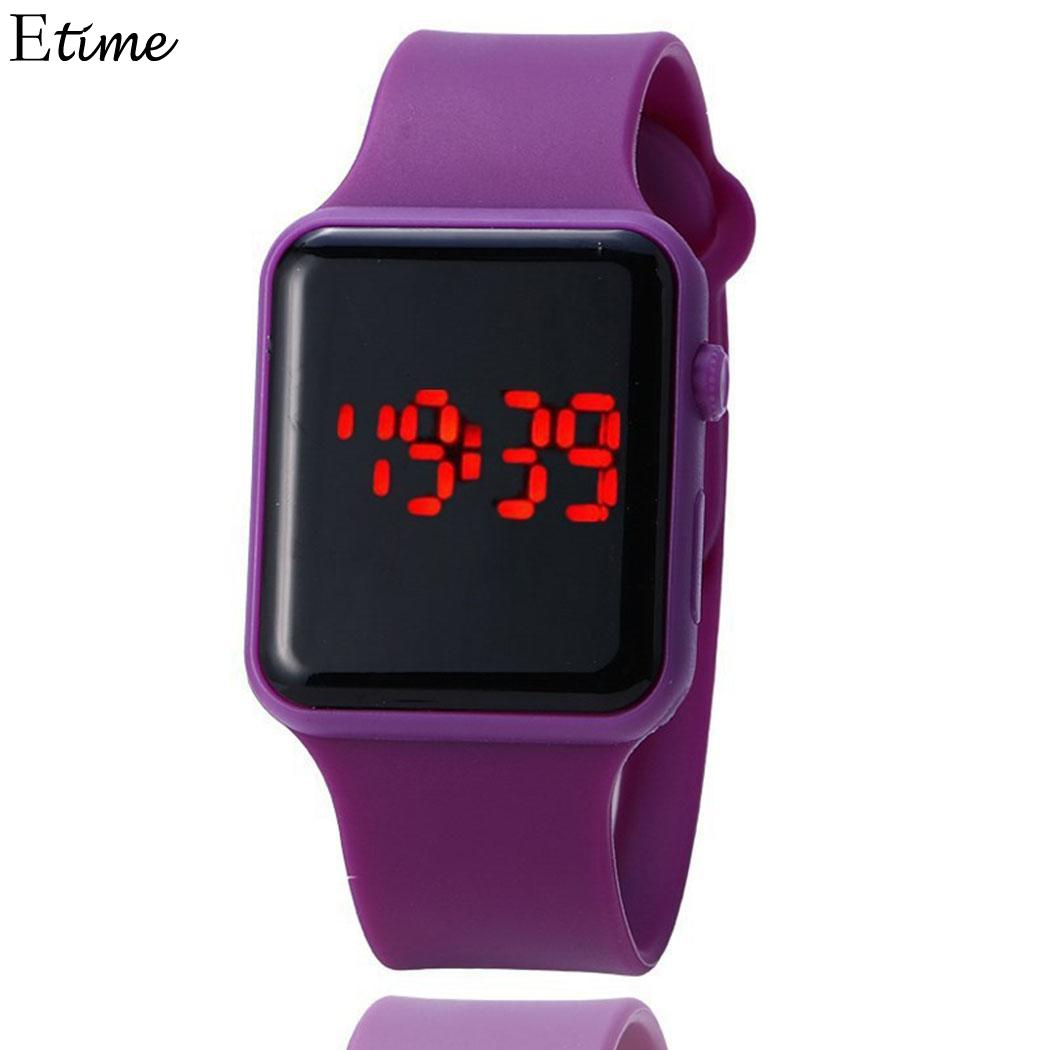 Watches Hearty Fanala Watch Men Replacement Band Strap Led Electronic Colorful Sporting Men Watches Relogio Masculino Wide Selection;