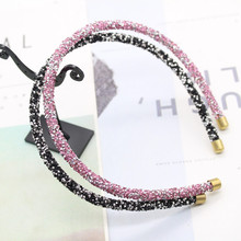 1pcs Girl Shiny Luxury Hair Band High Quality Hoop Accessories for Womens Crystal Headband Ornaments