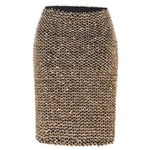 2018 Womens Skirts Gold Sequined Mini Skirt Bodycon Pencil Skirt Short Wrap  Skirt for Office Lady 07d9f7a0c25a