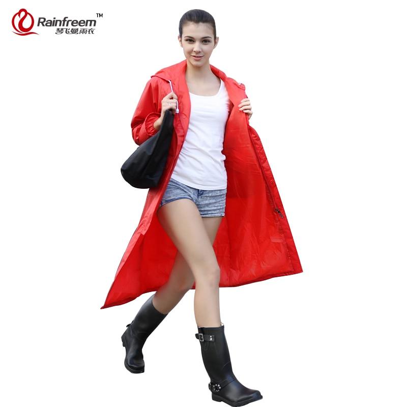 Rainfreem vízhatlan esőkabát nők / férfiak vízálló árok - Háztartási árucikkek