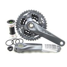 SHIMANO Alivio M4050 FC 3×9 S MTB Velocidad de la Bicicleta Bielas 170mm incluyen BB52
