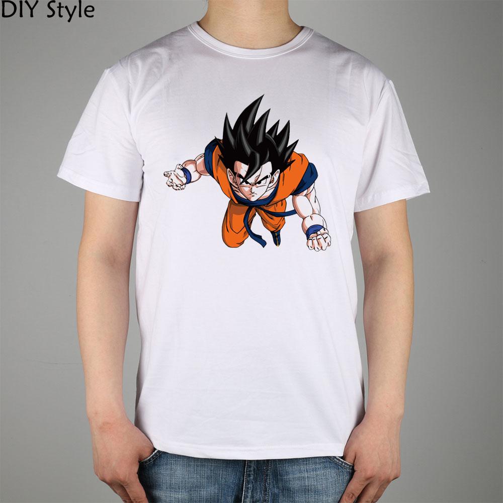 Dragon Ball Z Logo Vector T Shirt Cotton Lycra Top Fashion