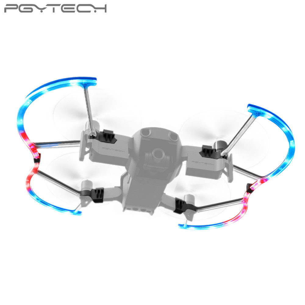 PGYTECH For Mavic Air LED Propeller Guard with Colorful Lighting Mode Protective Propeller Drone DJI Mavic Air Accessory цены