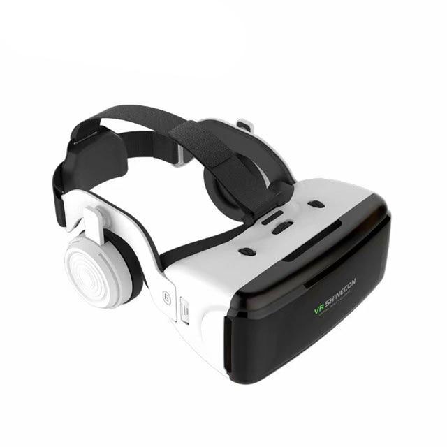 VR Shinecon G06E Casque Helmet 3D Glasses Virtual Reality Lens For Smartphone Smart Phone Google Cardboard Headset Goggles 3 D 2