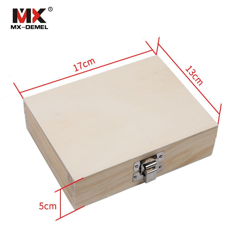 MX-DEMEL 12Pcs Fresa 8mm Set di punte per router Fresa per legno - Punta da trapano - Fotografia 6