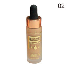 ZD Liquid Foundation Smooth Moist Long Lasting Weightless Face Makeup B8019