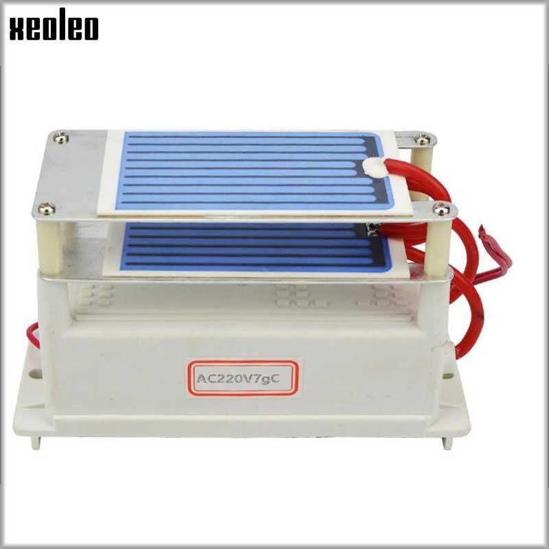 все цены на XEOLEO 7g Ozone generator Ozone Sterilizer Disinfection machine part remove formaldehyde Air Purifier Moisture proof