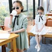 Children S Garment 2017 Spring New Pattern Girl Dress Children Doll Lead Korean Long Sleeve Kids