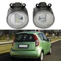 1set LED Fog Lights Kits 10W Cree Chips Fog Lamp For Suzuki SWIFT Grand Vitara 2 JIMNY FJ IGNIS II SPLASH ALTO 2005 Car styling