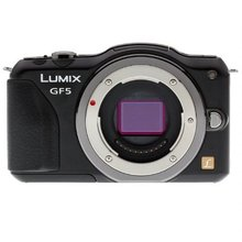 USED,Panasonic DMC-GF5 12 MP Compact System Camera with 3-Inch Touch Screen Body ONLY (White/Black)
