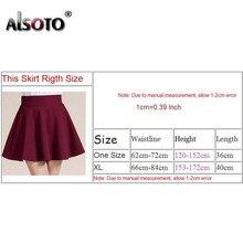 New 2018 Summer style sexy Skirt for Girl lady Korean Short Skater Fashion female mini Skirt Women Clothing Bottoms