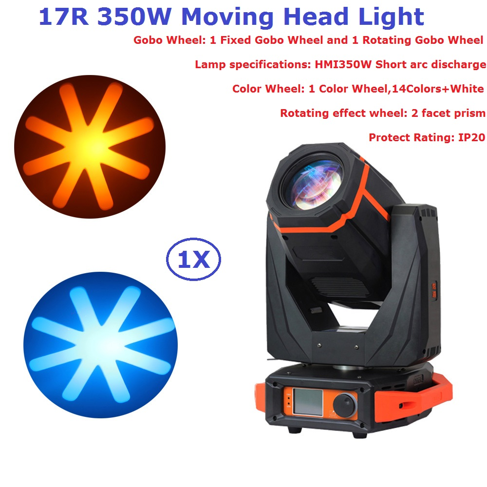 1Pcs Carton Package 17R 350W Beam Moving Head Spot Lights With 2 Rotating Facet Prism Professional Stage Dj Lighting Equipments1Pcs Carton Package 17R 350W Beam Moving Head Spot Lights With 2 Rotating Facet Prism Professional Stage Dj Lighting Equipments