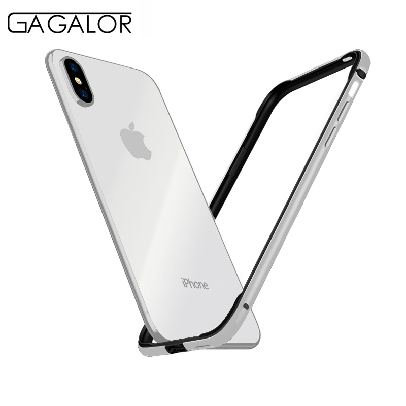 GAGALOR phone case metal bumper for iPhone XS MAX 6.5