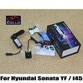 Lâmpada de Advertência Da Cauda Traseira do carro Para Hyundai Sonata YF/i45 2011 ~ 2014/Externo para Anti-Colisão Traseira final de Auto-Condução segura luzes