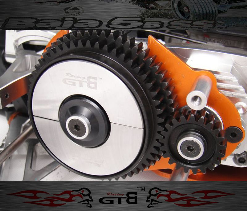 где купить  GTBRacing 2-speed system hpi km rv baja 5b ss 5t 5sc  дешево