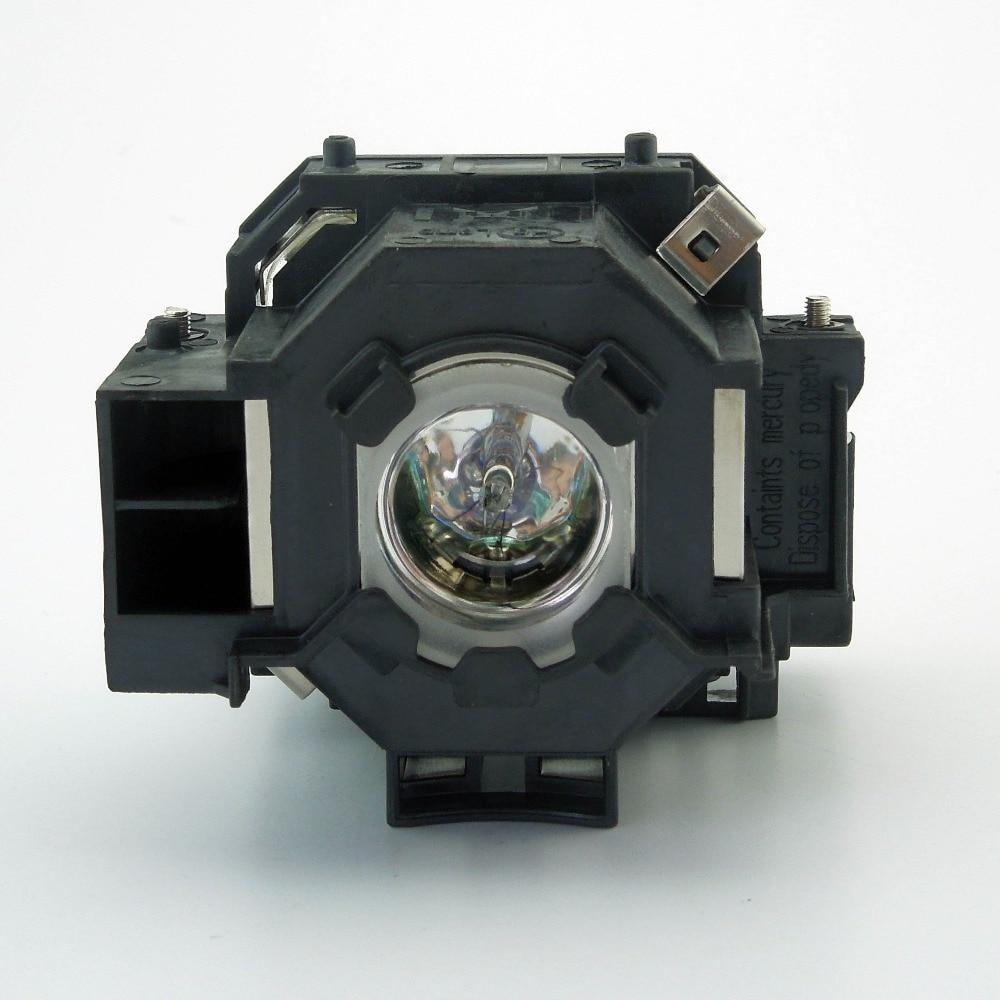 Original Projector Lamp ELPLP42 / V13H010L42 For EPSON EMP-83C/EMP-83/EMP-822H/EMP-822/EMP-410We/EMP-410W/EX90/PowerLite 400W electrocompaniet emp 3