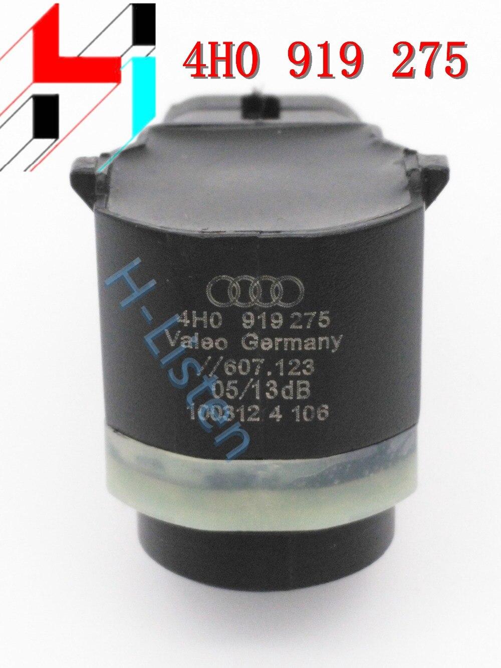 4pcs Parking PDC Sensor 4H0919275 Reversing Radar For V W Skoda Seat 4H0919275 3C0919275S 5KD919275